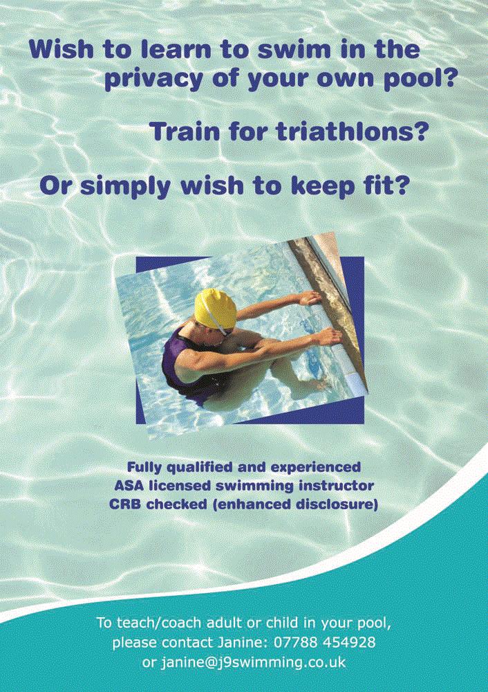J9 Swimming Swimming Lessons In Borehamwood Bushey And Harrow